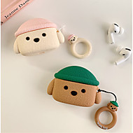 cheap -Case For AirPods Pro Cute / Shockproof / Dustproof Headphone Case Soft