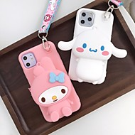 Недорогие -Кейс для Назначение Apple iPhone 11 / iPhone 11 Pro / iPhone 11 Pro Max Бумажник для карт / Защита от удара Кейс на заднюю панель Мультипликация ТПУ