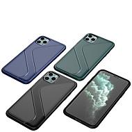 abordables -Coque Pour Apple iPhone 11 / iPhone 11 Pro / iPhone 11 Pro Max Ultrafine Coque Couleur Pleine TPU