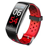 tanie -imosi q8s inteligentny zespół pulsometr wodoodporny inteligentny bransoletka fitness tracker ciśnienie krwi inteligentny zegarek android ios