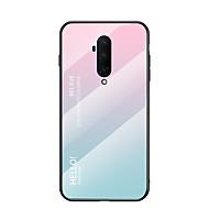 voordelige -hoesje Voor OnePlus One Plus 5 / een plus 7T / een plus 7T Pro Schokbestendig Achterkant Kleurgradatie TPU