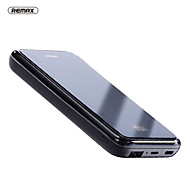 cheap -Remax 10000 mAh For Power Bank External Battery 5 V For 2.1 A For Battery Charger QC 2.0 / Wireless Charger LED