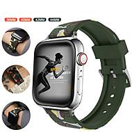мягкий силиконовый ремешок для часов серии Apple 5/4/3/2/1 сменный браслет ремешок на запястье браслет 38 / 40мм 42 / 44мм