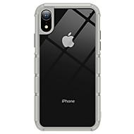 levne -Carcasă Pro Apple iPhone XR Ultra tenké / Průhledné Zadní kryt Průhledný / Jednobarevné TPU