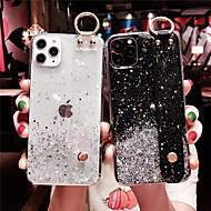Недорогие -Кейс для Назначение Apple iPhone 11 / iPhone 11 Pro / iPhone 11 Pro Max Прозрачный / С узором / Сияние и блеск Кейс на заднюю панель Сияние и блеск ТПУ