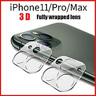levne -1ks plně průhledná fólie pro iphone 11 3d kryt na zadní stranu objektivu s ochranou objektivu pro iphone 11 pro max tvrzené sklo