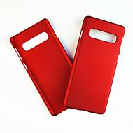 voordelige -hoesje Voor Samsung Galaxy S9 / S9 Plus / S8 Plus Schokbestendig Achterkant Effen PC