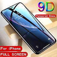 abordables -9d verre trempé protecteur pour iphone protecteur d'écran en verre incurvé pour iphone x xr xs 11 pro max