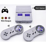 olcso -Vezeték nélküli retro mini videojáték-konzol Retro játékkonzol nem 8 bites játékokhoz, 312 beépített kettős játékvezérlővel