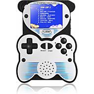 olcso -12 bites kézi játékkonzol gyerekeknek hordozható játékkonzol beépített 220 klasszikus játékú panda kialakítású, 2,5 hüvelykes LCD arcade játékrendszer usb-díj gyerekeknek