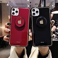abordables -Coque Pour Apple iPhone 11 / iPhone 11 Pro / iPhone 11 Pro Max Avec Support / Ultrafine / Motif Coque Couleur Pleine TPU