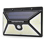 cheap -BRELONG Solar Body Sensor Wall Light Outdoor IP65 Waterproof Courtyard Garden Light