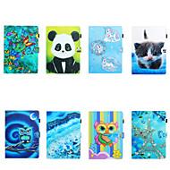 abordables -Coque Pour Tablettes Samsung Samsung Tab A 10.1 (2019) T510 / Samsung Tab A 8.0 (2019) T290 / 295 / Samsung Tab S6 T860 / 865 Porte Carte / Antichoc Coque Intégrale Bande dessinée TPU