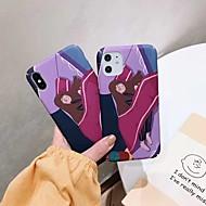 ieftine -Maska Pentru Apple iPhone 11 / iPhone 11 Pro / iPhone 11 Pro Max Anti Șoc / Ultra subțire / Model Capac Spate Desene Animate PC