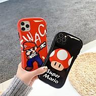 ieftine -Maska Pentru Apple iPhone 11 / iPhone 11 Pro / iPhone 11 Pro Max Anti Șoc / Cu Stand Capac Spate Desene Animate TPU