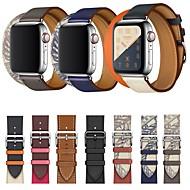 povoljno -jabuka pametni sat kožni remen serije 5/4/3/2/1 iwatch sportski poslovni bendovi vrhunske mode udobne zdravstvene kože prave kože s dvostrukim turnejskim ručnim zglobovima