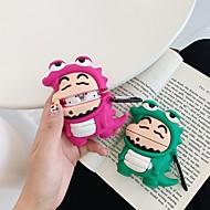 ieftine -Maska Pentru AirPods Draguț / Anti Șoc / Anti Praf Cască pentru căști Moale