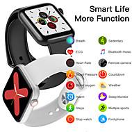 cheap -W75 Smartwatch IP68 Waterproof Full Touch Screen Heart Rate ECG Blood Pressure Oxygen BT Control Smart Watch