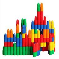 저렴한 -조립식 블럭 인터락킹 블럭 불릿 블록 단순한 핸드메이드 부모 - 자녀 상호 작용 가족 플라스틱 쉘 휴태용 보편적 195 pcs 아동용 남학생과 여학생 장난감 선물