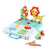 저렴한 -조립식 블럭 건설 완구 스크류 장난감 316 pcs 가족 볼스터 호환 Legoing 전자 DIY 핸드메이드 남학생과 여학생 장난감 선물 / 아동용