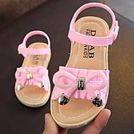 billige -Jente Komfort PVC Sandaler Toddler (9m-4ys) Rosa / Grønn / Svart Vår