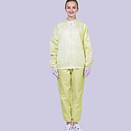 povoljno -1 set antistatičke radne odjeće zaštitni kombinezon s kapuljačom od prašine podijeljen čistom radnom odjećom
