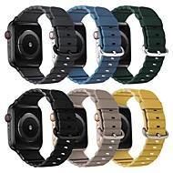 저렴한 -시계 밴드 용 애플 워치 시리즈 5/4/3/2/1 Apple 클래식 버클 / 가죽 루프 / 비즈니스 밴드 천연 가죽 손목 스트랩