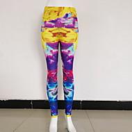זול -בגדי ריקוד נשים Temel צועד - גיאומטרי, דפוס מותן בינוני צהוב S M L