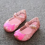 billige -Jente Komfort PVC Sandaler Toddler (9m-4ys) Rosa / Sølv / Svart Vår