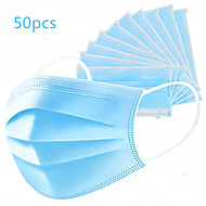 50 pcs disposable Maska 3 sloja Na lageru CE Certifikat Uniseks Plava