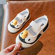 billige -Jente Komfort Lerret Flate sko Toddler (9m-4ys) Rosa / Hvit Vår