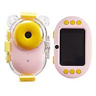 저렴한 -어린이 디지털 카메라 만화 미니 스포츠 방수 어린이 카메라 더블 렌즈 작은 slr 선물
