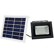 저렴한 -1 개 10 W LED 투광 조명 / 주도 거리 조명 방수 / 솔라 - 전원 / 조명 제어 따뜻한 화이트 / 차가운 화이트 3.7 V 실외 조명 / 안마당 / 가든 50 LED 비즈 추수 감사절 / 크리스마스