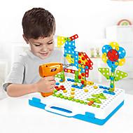 저렴한 -조립식 블럭 건설 완구 스크류 장난감 237 pcs 가족 볼스터 호환 Legoing 전자 DIY 핸드메이드 남학생과 여학생 장난감 선물 / 아동용