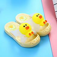 billige -Jente Komfort PVC Tøfler og flip-flops Toddler (9m-4ys) Gul / Rosa / Blå Vår