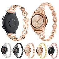 저렴한 -시계 밴드 용 Samsung Galaxy Watch 42 / 삼성 Galaxy Watch Active Samsung Galaxy 쥬얼리 디자인 스테인레스 스틸 손목 스트랩