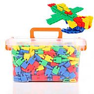 저렴한 -조립식 블럭 인터락킹 블럭 불릿 블록 단순한 핸드메이드 부모 - 자녀 상호 작용 가족 플라스틱 쉘 휴태용 보편적 800 pcs 아동용 남학생과 여학생 장난감 선물
