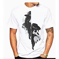 povoljno -Majica s rukavima Muškarci Dnevno Geometrijski oblici Obala