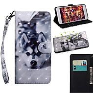 저렴한 -케이스 제품 Apple 아이폰 11 / 아이폰 11 프로 / iPhone 11 Pro Max 지갑 / 카드 홀더 / 스탠드 전체 바디 케이스 동물 PU 가죽 / TPU