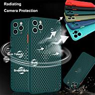저렴한 -벌집 전화 케이스 아이폰 11 / 11pro / 11pro 최대 소프트 tpu 통기성 커버 아이폰 XS 맥스 / XR / X / Xs / 8 플러스 / 8 색 버튼 케이스
