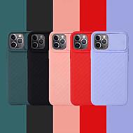 저렴한 -Apple iPhone 11 / iPhone 11 Pro / iPhone 11 Pro Max / 6 / 6p / 7 / 8 / 7p / 8p / x / xr / xsmax 방진 / 초박형 후면 커버 단색 실리콘 용 케이스