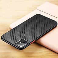 저렴한 -iPhone11pro Max Mesh 호흡 냉각 휴대 전화 케이스 XS Max 실리콘 보호 케이스 실제 기계 개방 구멍 6 / 7 / 8plus 낙하 방지 케이스
