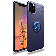 저렴한 -케이스 제품 Apple 아이폰 11 / 아이폰 11 프로 / iPhone 11 Pro Max 충격방지 / 링 홀더 뒷면 커버 갑옷 TPU