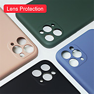 저렴한 -아이폰 11 프로 / 11 / 11 프로 최대 케이스 고급 실리콘 전체 보호 소프트 커버 아이폰 XS / XR / XS 최대 / 8 플러스 / 7 플러스 / 8 / 7 전화