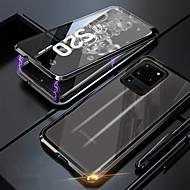 저렴한 -삼성 갤럭시 S20 / S20plus / S20ultra 양면 강화 유리 금속 자기 전화 케이스 삼성 갤럭시 노트 10 / 참고 10 플러스 / A20S / A10S / A70 / A60 / A50 / A30 / A20 / A10
