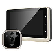 cheap -5-inch high-definition electronic cat's eye video doorbell camera video camera mobile sensor infrared wide-angle