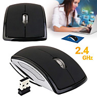 cheap -LITBest b309 Wireless Foldable Design Mouse 2.4G Optical Gaming Mouse Office Mouse 3 Adjustable DPI Levels 4 pcs Keys