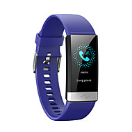 cheap -V19 ECG PPG Smart Bracelet Heart Rate Blood Pressure Oxygen Sleep Monitoring Bluetooth Fitness Tracker Large Screen Smart Watch