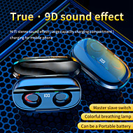 cheap -LITBest K1 Pro TWS True Wireless Earbuds Bluetooth 5.0 Stereo Waterproof IPX4 Headphone With LED Power Display