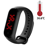cheap -M8 Smart Band Body Temperature Smart Bracelet Precise Display Smart Band Clock Time Hours Smart Wristband Watch Men Women